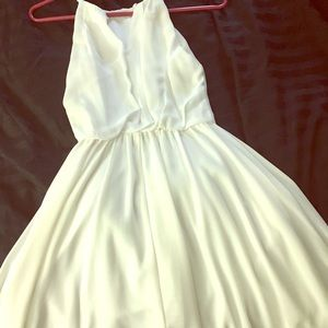White dress for bride to be